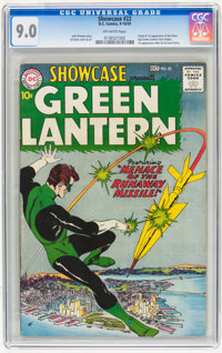Showcase #22 Green Lantern (DC, 1959) CGC VF/NM 9.0 Off-white pages