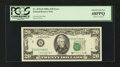 Error Notes:Shifted Third Printing, Fr. 2076-B $20 1988A Federal Reserve Note. PCGS Superb Gem New 68PPQ.. ...