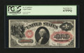 Large Size:Legal Tender Notes, Fr. 27 $1 1878 Legal Tender PCGS Superb Gem New 67PPQ....
