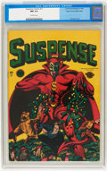 Golden Age (1938-1955):Crime, Suspense Comics #11 Mile High pedigree (Continental Magazines, 1946) CGC NM 9.4 Off-white pages....