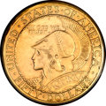 Commemorative Gold, 1915-S $50 Panama-Pacific 50 Dollar Round AU55 PCGS....