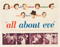 """All About Eve (20th Century Fox, 1950). Half Sheet (22"""" X 28"""") Style A"""