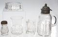 Antiques:Decorative Americana, U.S. Coin Glass: Lot of Serving and Glassware Pieces, circa 1893.... (Total: 5 Items)