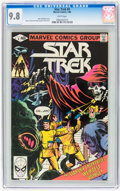 Modern Age (1980-Present):Science Fiction, Star Trek #4 (Marvel, 1980) CGC NM/MT 9.8 White pages....
