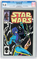 Modern Age (1980-Present):Science Fiction, Star Wars #96 (Marvel, 1985) CGC NM/MT 9.8 Off-white to whitepages....
