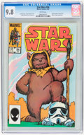 Modern Age (1980-Present):Science Fiction, Star Wars #94 (Marvel, 1985) CGC NM/MT 9.8 White pages....