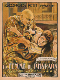 """The Wife of the Pharaoh (EFA, 1922). French Grande (47"""" X 63"""")"""