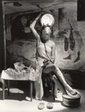 Photographs, HORST P. HORST (American, 1906-1999). Electric Beauty, Paris, 1939. Platinum-palladium, printed later. Paper: 14 x 11 in...