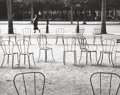 Photographs, ANDRÉ KERTÉSZ (Hungarian, 1894-1985). Chairs of Paris, 1927. Gelatin silver, printed later. Paper: 8 x 10 inches (20.3 x...
