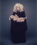 Photography :20th Century , WILLIAM WEGMAN (American, b. 1943). Cleo's Stepmother, 1992. Unique Polaroid Polacolor ER. 24 x 20 inches (61.0 x 50.8 c...