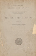 Books:Non-fiction, Three Booklets Related to the Building of the State Capitol inAustin, including:...