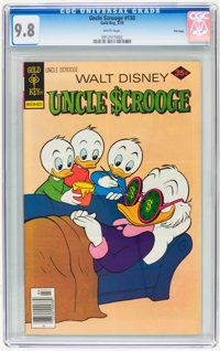 Uncle Scrooge #150 File Copy (Gold Key, 1978) CGC NM/MT 9.8 White pages