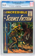 Golden Age (1938-1955):Science Fiction, Incredible Science Fiction #31 (EC, 1955) CGC FN- 5.5 Cream tooff-white pages....