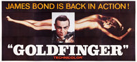 "Goldfinger (United Artists, 1964). 24 Sheet (104"" X 232"")"