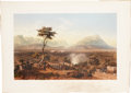 Autographs:Military Figures, Mexican War: Capture of Monterey, a hand-colored lithograph from George Wilkins Kendall, The War Between the U...