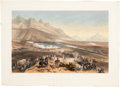 Autographs:Military Figures, Mexican War: Battle of Buena Vista, a hand-colored lithograph from George Wilkins Kendall, The War Between the...