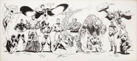 Specialty Illustration: John Byrne, Terry Austin, George Perez, Joe Sinnott, Bob Wiacek, Walt Simonson, Jim Starlin, A...