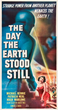 "Movie Posters:Science Fiction, The Day the Earth Stood Still (20th Century Fox, 1951). Three Sheet(41"" X 81"").. ..."