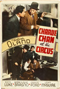 "Movie Posters:Mystery, Charlie Chan at the Circus (20th Century Fox, 1936). Poster (40"" X60"").. ..."