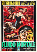 "Movie Posters:Science Fiction, The Blob (Paramount, 1958). Italian 4 - Folio (55"" X 78"").. ..."