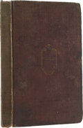 Books:First Editions, Mary Austin Holley: Texas. Observations, Historical,Geographical and Descriptive, In a Series of Letters,Written...