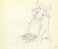 Animation Art:Production Drawing, Ferdinand the Bull Animation Production Drawing Original Art(Disney, 1938)....