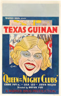 "Movie Posters:Musical, Queen of the Night Clubs (Warner Brothers, 1929). Window Card (14"" X 22"").. ..."