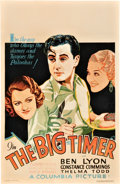 "Movie Posters:Sports, The Big Timer (Columbia, 1932). Window Card (14"" X 22"").. ..."
