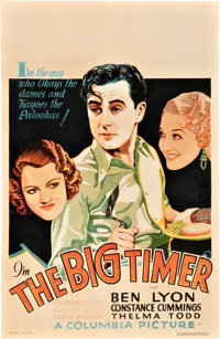 "The Big Timer (Columbia, 1932). Window Card (14"" X 22"")"