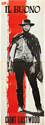 """The Good, The Bad and the Ugly (PEA, 1966). Italian Premiere Displays (3) (39"""" X 110""""). ... (Total: 3 Items)"""