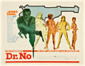 "Movie Posters:James Bond, Dr. No (United Artists, 1962). Half Sheet (22"" X 28"").. ..."