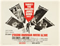 "Movie Posters:James Bond, From Russia with Love (United Artists, 1964). Half Sheet (22"" X28"").. ..."