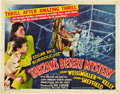 "Movie Posters:Adventure, Tarzan's Desert Mystery (RKO, 1943). Half Sheet (22"" X 28"") StyleB.. ..."