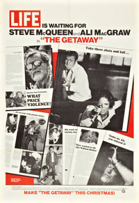 "The Getaway (National General, 1972). Advance One Sheet (27"" X 41"")"