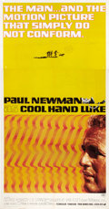 "Movie Posters:Drama, Cool Hand Luke (Warner Brothers, 1967). Three Sheet (41"" X 80"")....."
