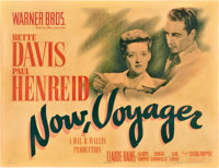 """Now, Voyager (Warner Brothers, 1942). Half Sheet (22"""" X 28"""") Style B"""