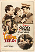 """Movie Posters:Drama, Ceiling Zero (Warner Brothers, 1936). Poster (40"""" X 60"""").. ..."""