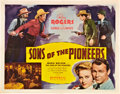 """Movie Posters:Western, Sons of the Pioneers (Republic, 1942). Half Sheet (22"""" X 28"""") Style A.. ..."""