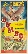 "Movie Posters:Animated, Dumbo (RKO, 1941). Three Sheet (41"" X 81"") Style B.. ..."