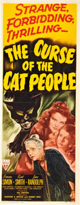 """Movie Posters:Horror, The Curse of the Cat People (RKO, 1944). Insert (14"""" X 36"""") andLobby Cards (2) (11"""" X 14"""").. ... (Total: 3 Items)"""