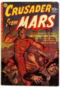 Golden Age (1938-1955):Science Fiction, Crusader from Mars #1 (Ziff-Davis, 1952) Condition: VG....