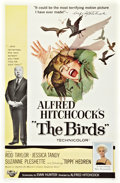 "Movie Posters:Hitchcock, The Birds (Universal, 1963). One Sheet (27"" X 41"").. ..."