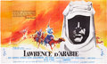"Movie Posters:War, Lawrence of Arabia (Columbia, 1962). French Ten Panel (230"" X126"").. ..."