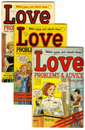 Golden Age (1938-1955):Romance, True Love Problems and Advice Illustrated #1 and 3-52 Group (Harvey, 1949-52) Condition: Average VF/NM.... (Total: 51 Comic Books)