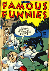 Famous Funnies #61-204 File Copies Bound Volumes (Eastern Color, 1939-51).... (Total: 12 Items)