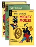 Silver Age (1956-1969):Cartoon Character, Mickey Mouse File Copies Box Lot (Gold Key, 1962-84)....
