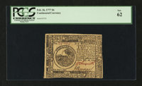 Continental Currency February 26, 1777 $6 PCGS New 62