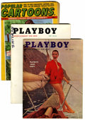 Magazines:Miscellaneous, Playboy Magazine Group (HMH Publishing, 1955-59) Condition: AverageVG....