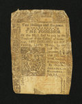 Colonial Notes:Connecticut, Connecticut July 1, 1775 2s/6d Good-Very Good, backed....