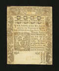 Colonial Notes:Connecticut, Connecticut June 7, 1776 1s/3d Uncanceled About New....